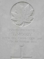 Pte T. Moody