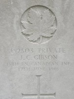 Pte J.C. Gibson