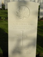Pte Alfred Horace Stickland