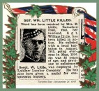 Sgt William Little 8 Nov 1917 - Divisional Collecting Post Extension Cemetery