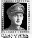 Matheson Lt Gordon Michael 10 Aug 1918 Rosieres Communal Cemetery Extension (134th-144th Bn) (2)