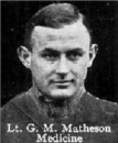 Matheson Lt Gordon Michael 10 Aug 1918 Rosieres Communal Cemetery Extension (134th-144th Bn)