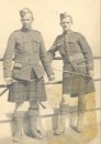 Munro Cpl Hugh Gordon (right) 9 Oct 1916 - Contay Cemetery (2)