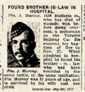 Murray Pte John 4 May 1917 Brookwood Military Cemetery