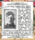 Parker Pte Frederick Norrie 15 Aug 1917 Vimy Memorial
