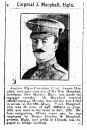 Pte James MacPhail 12 Mar 1917 - Villers Station