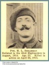 Shearman Pte Harold Leigh 29 April 1915 Menin Gate (2)