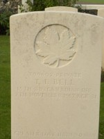 Pte Thomas Lyle Bell