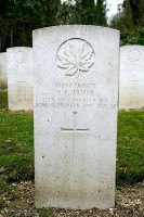 Nunhead All Saints Cemetery - Pte Stanley Prewett James