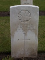 Brookwood Military Cemetery - Pte J. Murray