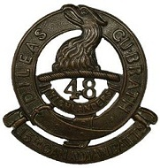 15th Cap Badge 2