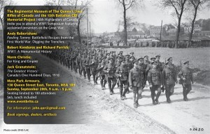 WW1 Symposium - 28 Sep 14 V5