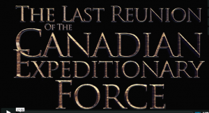 Last Reunion of the Canadian Expeditionary Force